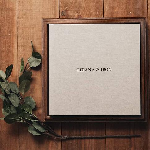 Book-mariage-impression-coffret-lin-naturel-hautdegamme-luxe-coffretbois