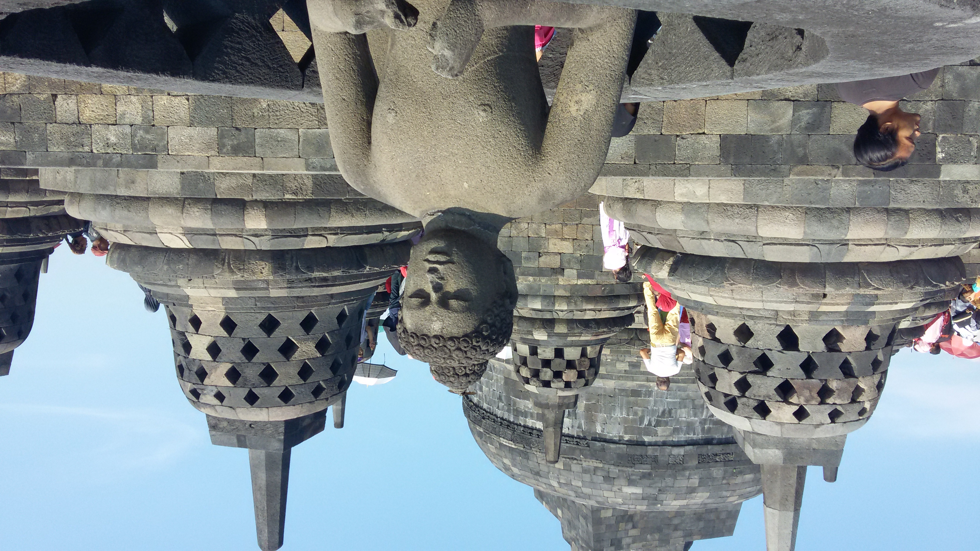 borobodor tapınağı Endonezya