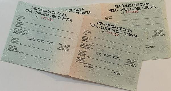 Küba Vizesi