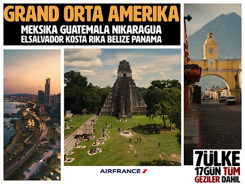 Grand Orta Amerika Turları