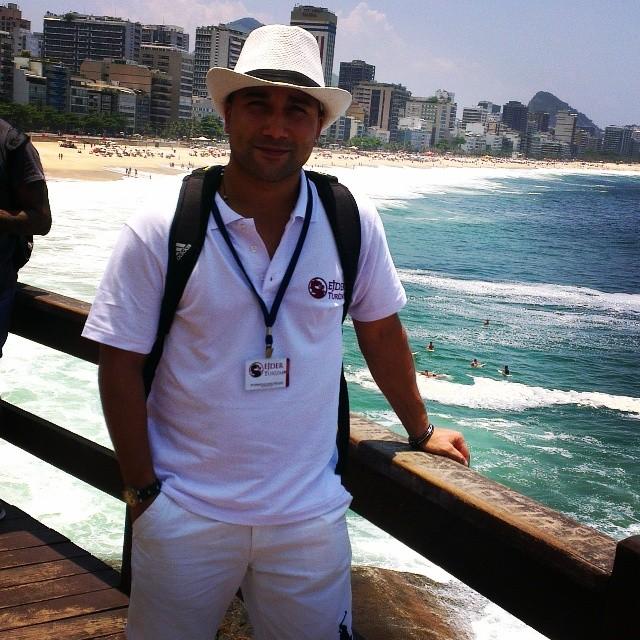 ipenema beach and dear myself :)