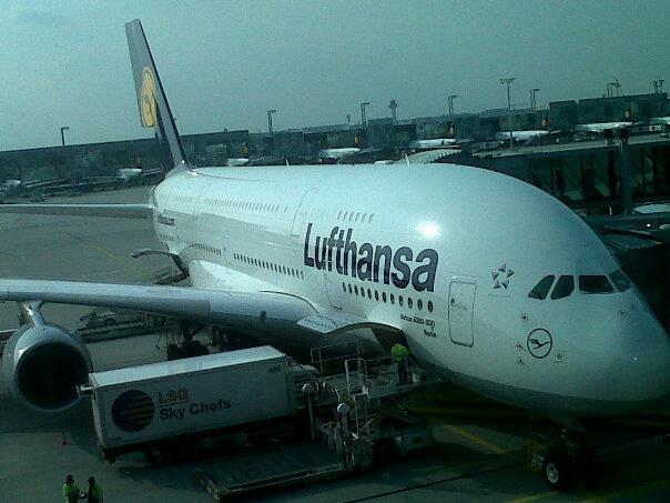 Facebook - Grubumuz Miami yolunda ucak A380