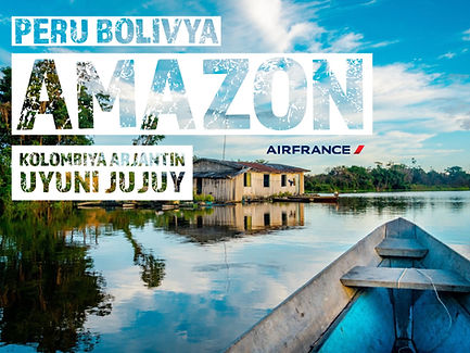 Kolombiya Amazon Peru Bolivya Arjantin Turları