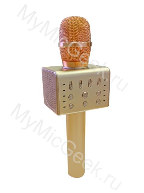 «MicGeek Q11 Золото (мощность 10Вт) Стерео звук»