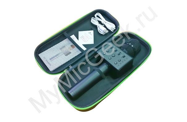Комплектация микрофона MicGeek Q10S