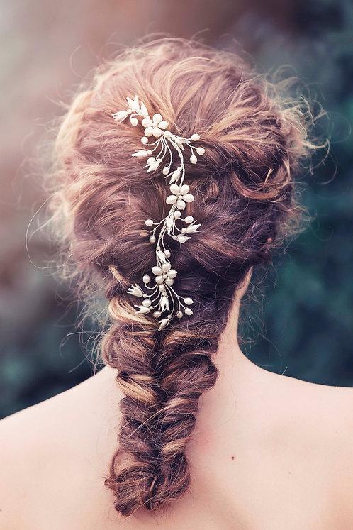 Dina Bridal Hair comb #GD1040