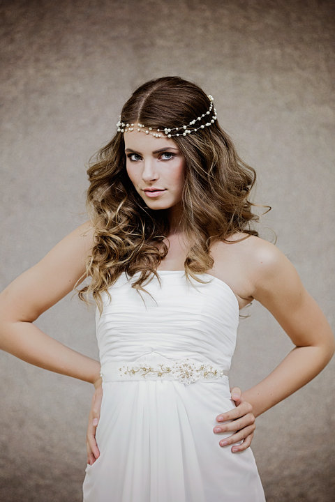 The Agathe Bridal Hairvine