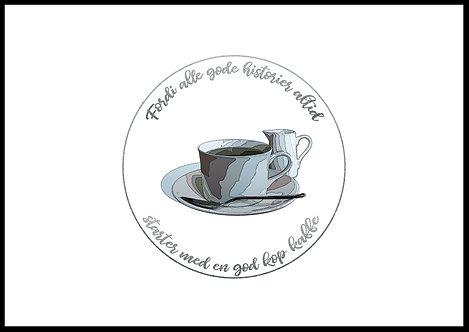 Gode historier og kaffe
