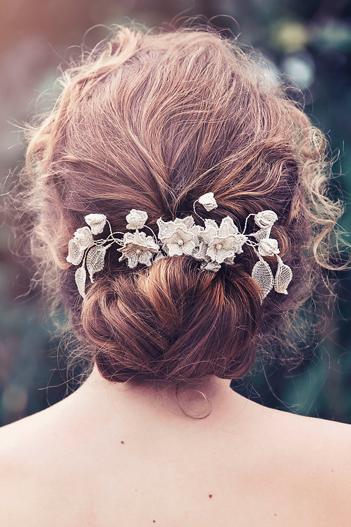 Alberta Bridal Hair comb #GD1042
