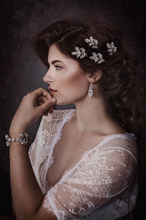 Crystal earrings GD180102