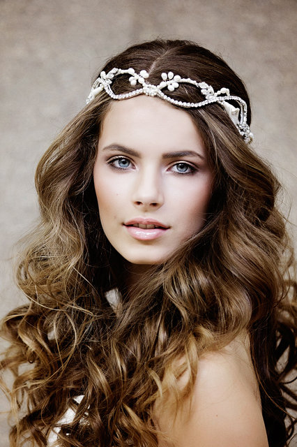 Laurelin Crystal Bridal Headpiece,