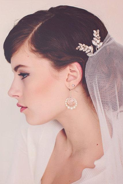 The Louisa Rhinestone Hair Pins, Set of 2 #156