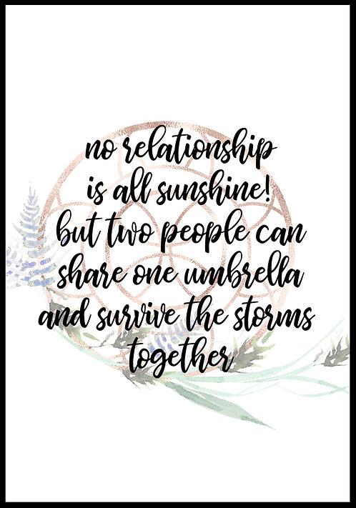 No relationship is.. citatplakat