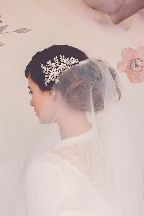 The Anna rhinestone crystal headpiece #149