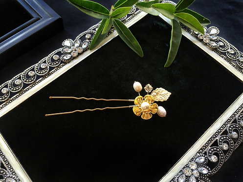 GD1009Bridal wedding hair pin