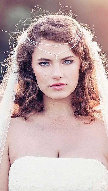 Bohemian Wedding Veil - Samarkand veil GD1072
