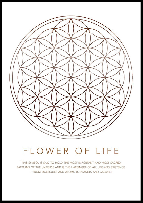 Flower of Life enkel