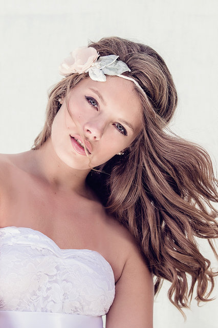 wedding hair accessories, Miss Lila halo