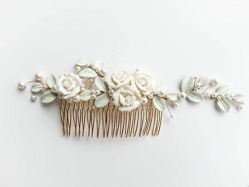 Angelina Bridal Hair Comb #GD1019