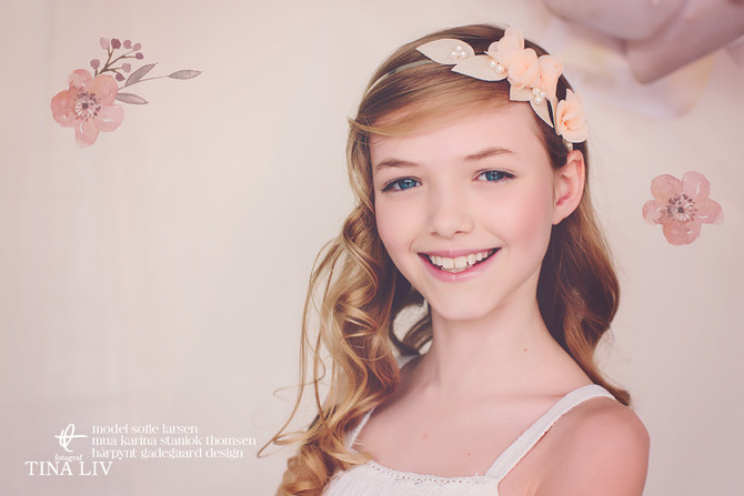 All new Flowergirl Headpieces