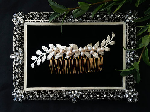 Amira Bridal Hair Comb #GD1015