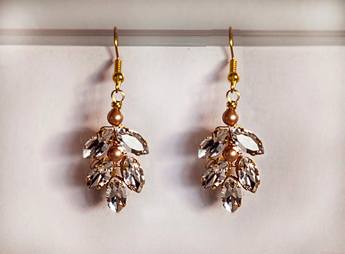 Wedding Bridal Chandelier Earring