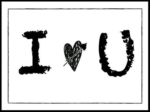 "I ""heart"" U"