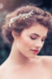 bridal headpiece, couturé bridal headpiece