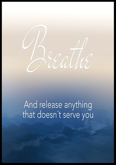 Breathe and release..
