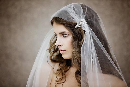 Juliet Cap Veil - Gatsby Style Veil