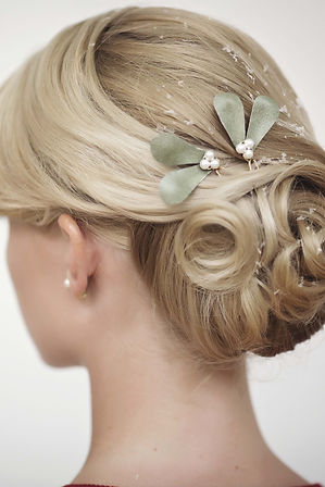bridal heapiece, couture bridal headpiece