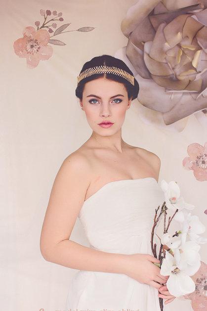 The Luna Bridal Headband #150