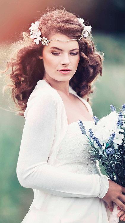 Anthea Rustic Bridal Flower Crown #GD1062