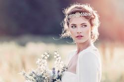 Alexandria Roman Style Bridal Headpi