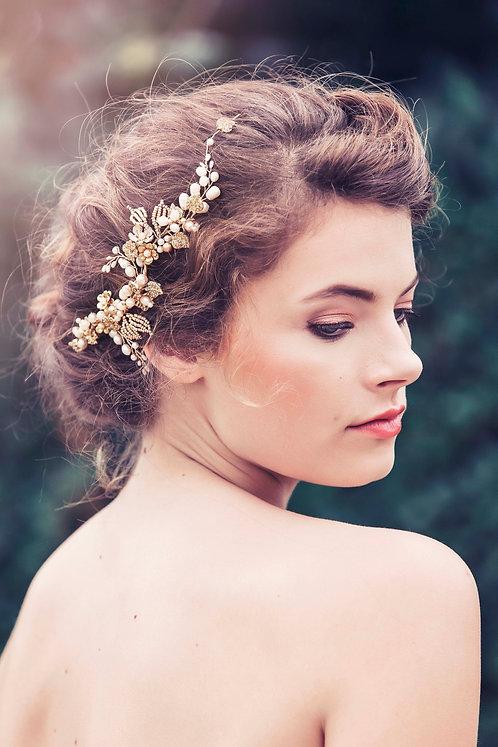 Elora Bridal Hair comb #GD1041