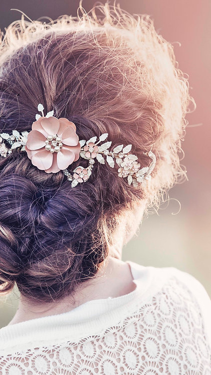 Adelaide Bridal Hair vine #GD1030