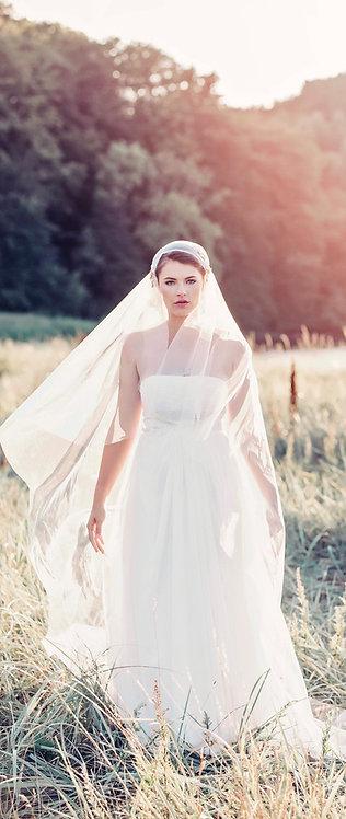 Juliet Cap Veil - Desdemona veil GD1068