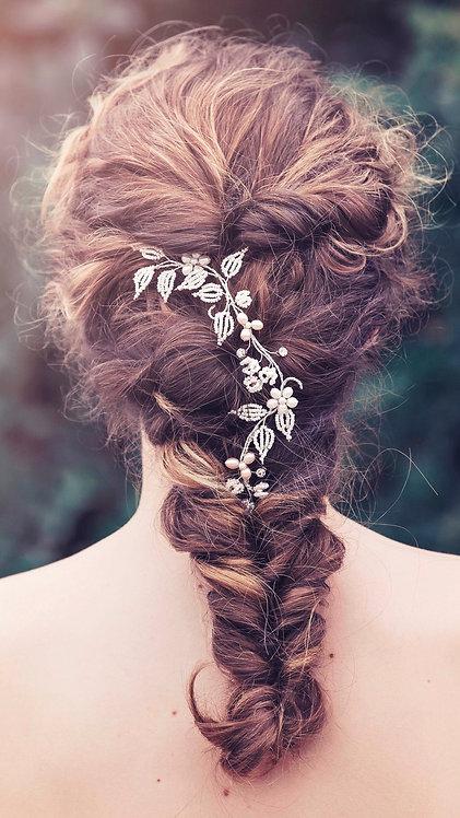 Aimée Bridal Hair vine #GD1038