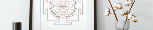 sacred geometry designposter