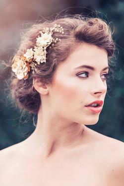 Bridal Headpiece by Gadegaard Design