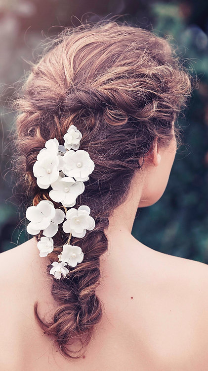 Adele Bridal Hair vine GD1023