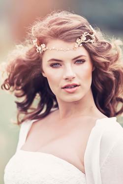 Anwen Rustic Bridal Flower Crown
