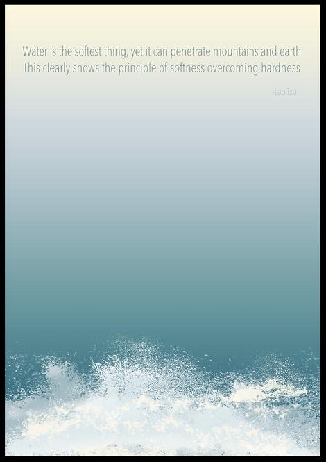 Water is.. plakat