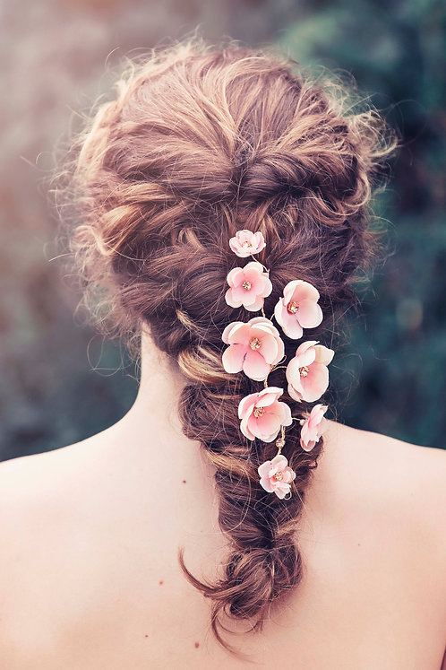 Adele Bridal Hair vine GD1024