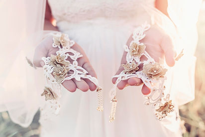 Gadegaard Design offers a stunning range of couture bridal headpieces, wedding veils, bridal sashes and handmade bridal garters