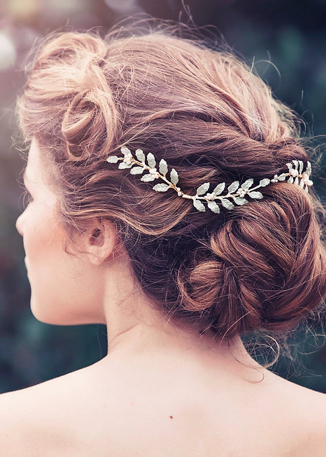 Alba Bridal Hair vine #GD1027