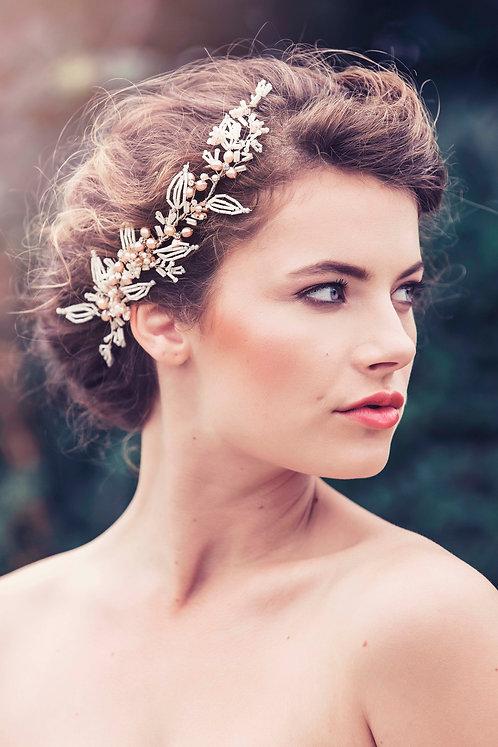 Elva Bridal Hair comb #GD1039