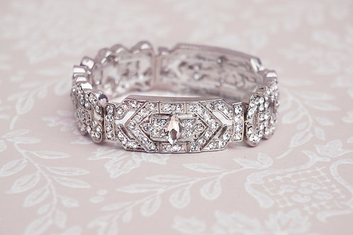 Vintage Wedding Bracelet, Art Deco