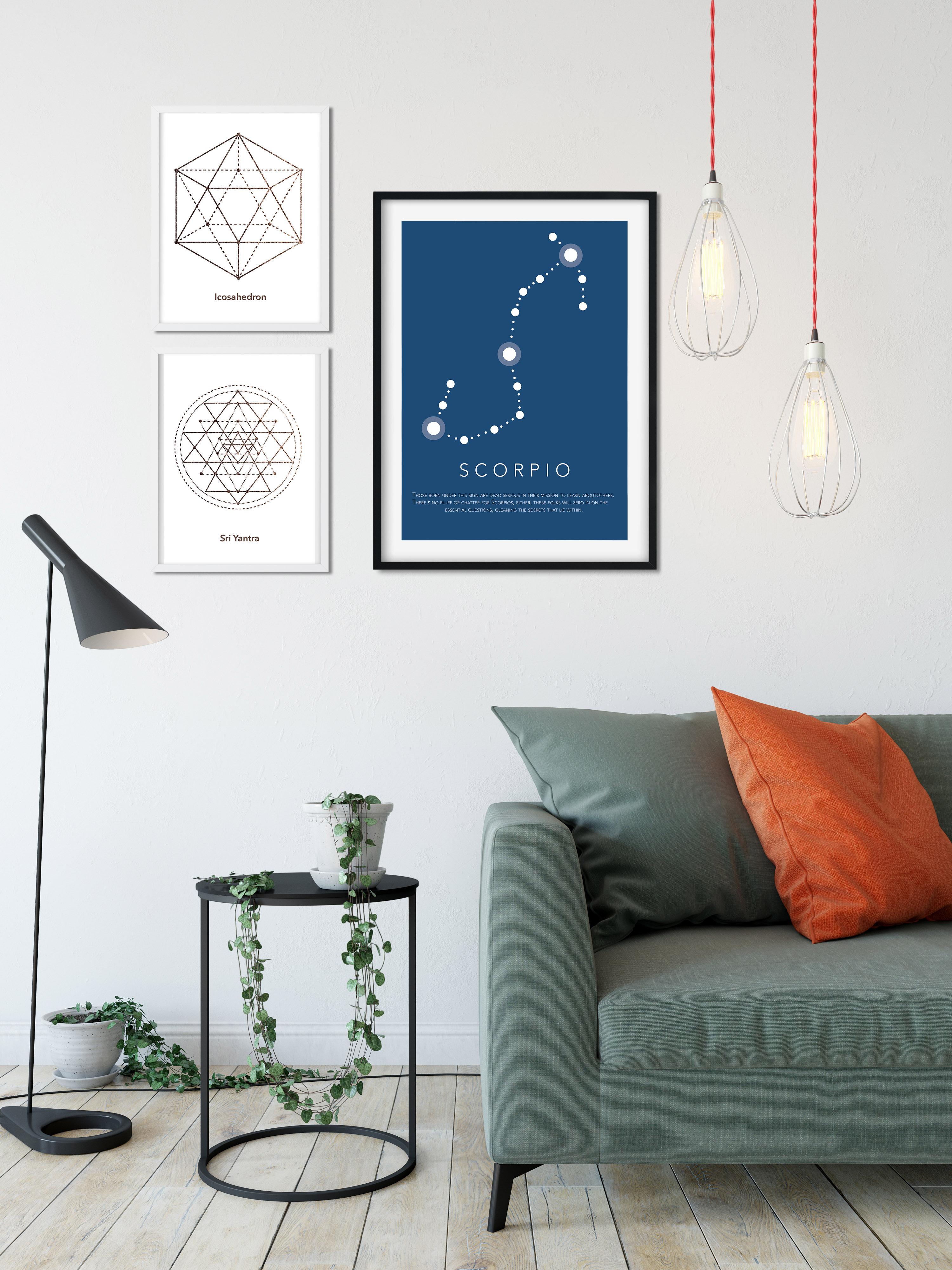 stjernetegn plakat