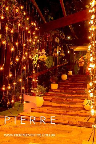iluminação para casamento - Lampadas Decoratias